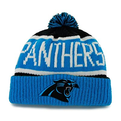 NFL Carolina Panthers Men's Calgary Knit Cap, One Size, Black