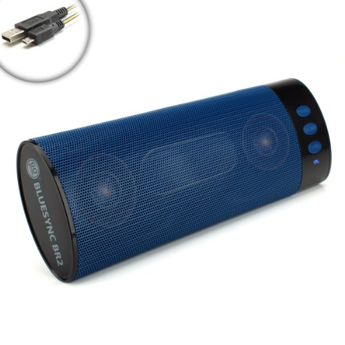 Boombar Portable Wireless Bluetooth 2.1 Stereo Speaker With Micro-Usb Charging Cable And Accessory Bag For Samsung Galaxy S4 , Htc One , Lg Optimus G Pro , Motorola Droid Razr Maxx , Nokia Lumia 1020 And Many More Bluetooth-Enabled Smartphones!