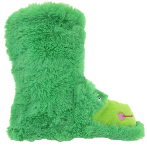 Cheap Capelli New York Frog Bunny Faux Fur Bootie With 3-D Parts Girls Indoor Slipper (B005WUSR9E)