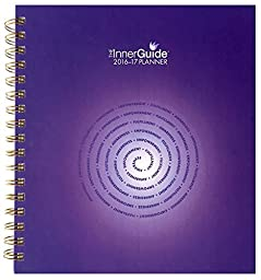 InnerGuide 2016/17 Goal & Success Planner - Increase Motivation, Productivity & Happiness. Weekly & Monthly Organizer, Appointment Book & Journal (July-June)