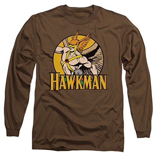 Hawkman And Club Long Sleeve T-Shirt