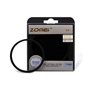 Zomei 82mm Genuine Ultra-Violet UV Filter Lens Protector for Canon Nikon Camera
