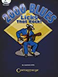 2000 Blues Licks That Rock - Book/3 CDs