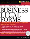 The Complete Book of Business Legal Forms (with CD)