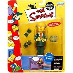 Simpsons Series 1 > Mr. Burns Action Figure