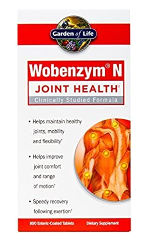 Garden of Life Wobenzym N 800 Tablets