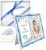 Baby Blessing Dedication Picture Frame Gift Blessings on Your Dedication - Boy