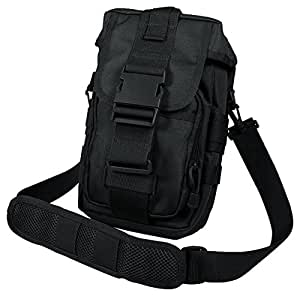Rothco Tact Flexipack Molle Shoulder Bag-Black