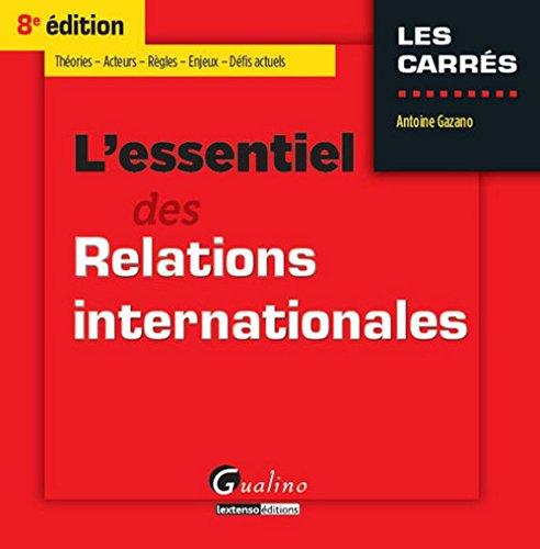 L'essentiel du droit des relations internationales