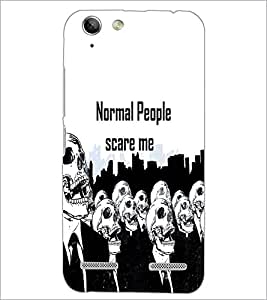 PrintDhaba Quote D-3743 Back Case Cover for LENOVO VIBE K5 PLUS (Multi-Coloured)