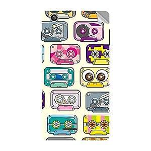 Garmor Designer Mobile Skin Sticker For OPPO Mirror 5 - Mobile Sticker