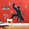 Birthday Express - Ninja Warrior Party Giant Wall Decals