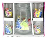 Disney's Princess 5pc Glass Pitcher Set