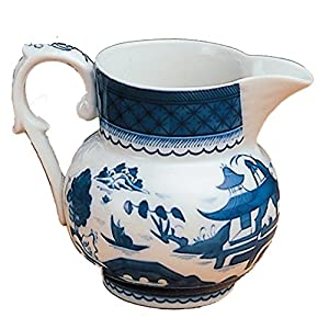 Mottahedeh Blue Canton Small Pitcher 4 in