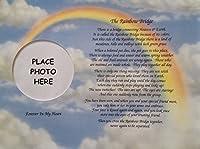 In Memory of Pet Rainbow Bridge Memorial Poem Sentimental Gift for Loss of Dog Cat