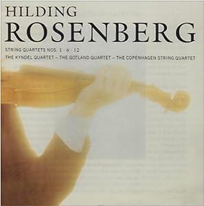 Hilding Rosenberg Kyndel Quartet String Quartets 7 8