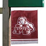 NCAA Mississippi State Bulldogs Maroon 11.5 x 13 Garden/Mailbox Flag