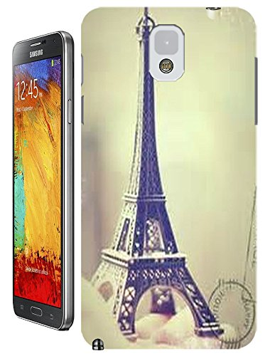 Beautiful Eiffel Tower Paris Fashion Cell Phone Cases Design For Samsung Galaxy Note 3 No.7 front-194428