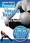 Complete Prenatal Vinyasa Yoga & Short Forms 2 DVD Set