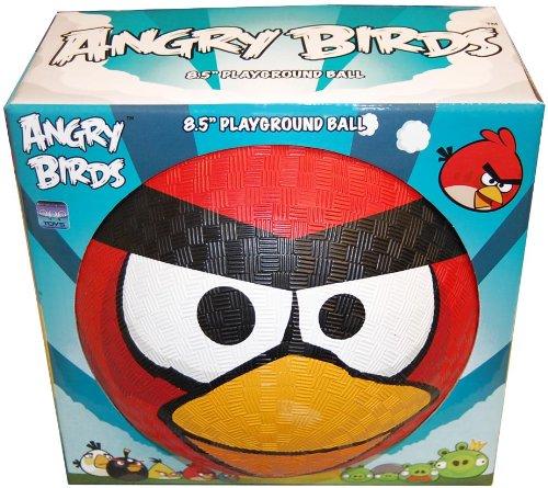 Imagen de Angry Birds 8 1/2 pulgadas Zona de juegos Rubber Ball Red Bird
