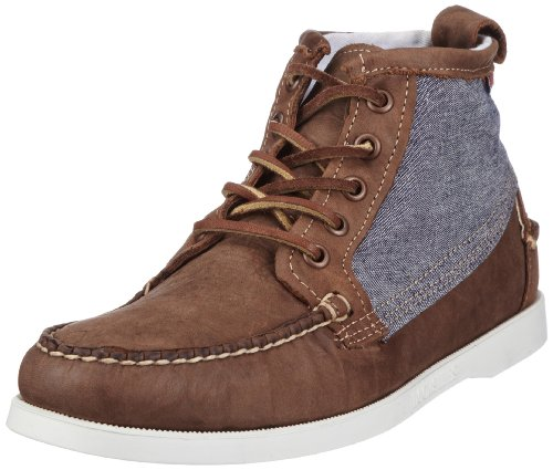 Sebago Men's Beacon Boot B72532 Multicolor(Light Brown/Chambray),43.5 EU/9 UK