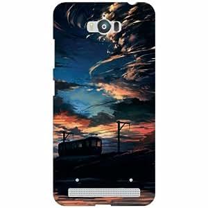 Printland Asus Zenfone Max ZC550KL Back Cover