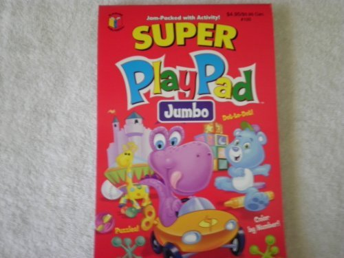 Super PlayPad Activity Book ~ Dino & Bear Cover 2009