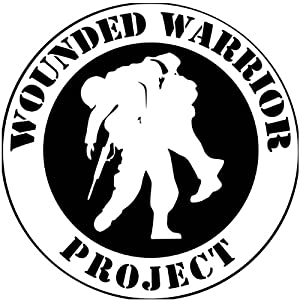 Amazon Com Wounded Warrior Project Round White Bumper