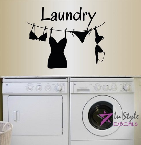 wall-vinyl-decal-home-decor-art-sticker-laundry-word-sign-clothes-line-drying-clothes-on-rope-room-r
