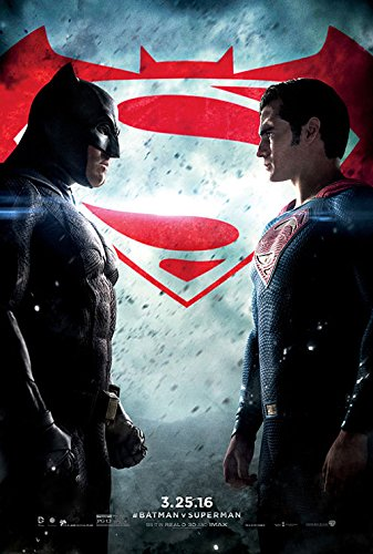 "Batman V Superman: Dawn of Justice - Authentic Original 27"" x 40"" Movie Poster"