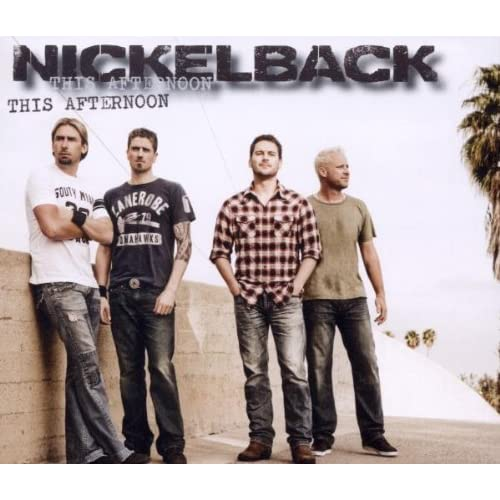 This-Afternoon-2track-Nickelback-Audio-CD