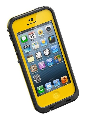 Lifeproof 1301-08 Fre Case for iPhone 5 - 1 Pack - Retail Packaging - Yellow