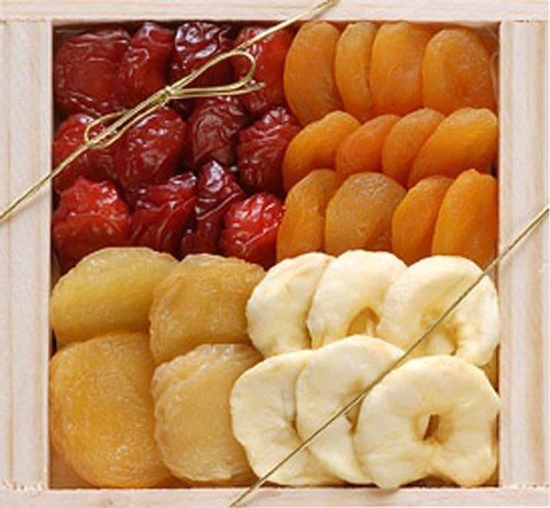 Broadway Basketeers Premium Dried Fruit Assortment (Medium) Gift Boxes (Pack of 2)