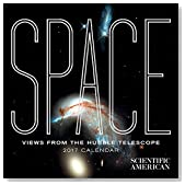 2017 Space: Views from the Hubble Telescope Mini Wall Calendar