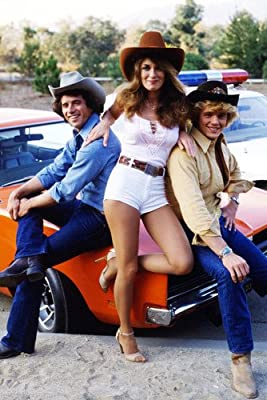 Catherine Bach John Schneider Tom Wopat The Dukes Of Hazzard By Car 24x36 Poster