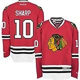 Chicago Blackhawks Patrick Sharp #10 Red Reebok Premier Stitched Jersey