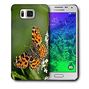 Snoogg Abstract Multicolor Butterfly Printed Protective Phone Back Case Cover For Samsung Galaxy SAMSUNG GALAXY ALPHA