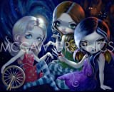 """The Three Fates by Jasmine Becket-Griffith 8""""x10"""" Art Print Poster by Bruce McGaw"""
