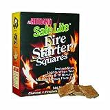 Rutland Safe Lite Fire Starter Squares, 144-Square