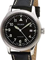 Vollmer V7 Swiss Automatic Aviator Officer Watch