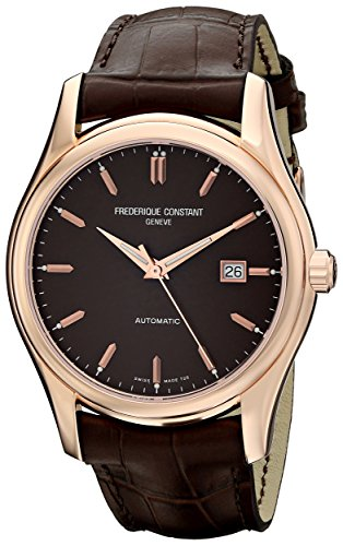 Frederique Constant FC-303C6B4 - Reloj de pulsera hombre, piel, color marrón