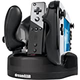 dreamGEAR Nintendo Wii U Quad Dock Revolution Charger