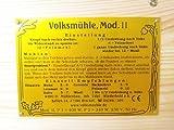 Getreidemühle WIDU Volksmühle Mod. II aus Holz -