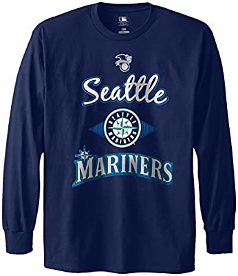 MLB Seattle Mariners Men's 58T Long Sleeve Tee