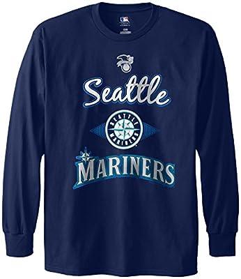 MLB Seattle Mariners Men's 58T Long Sleeve Tee