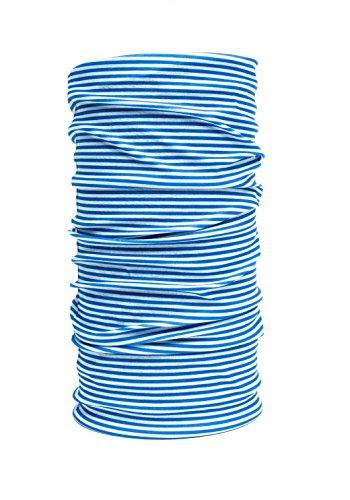 nexi-multifonction-chiffon-echarpe-foulard-bleu-blanc-bleu-blanc