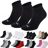 Puma Lot de 3 paires de chaussettes de sport Unisexe