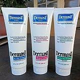 Dermasil Dry Skin, Advanced & Sensitive Skin Treatment, Protective Hand Lotion Cream Combo 8 oz.. (3 Pack).. HPVagr