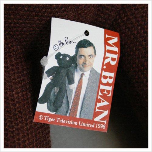 【Mr.Bean】ミスタービーン・テディベアのぬいぐるみ♪