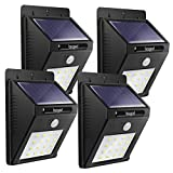 beegod Solar Motion Sensor Light,16 Led Waterpoof Security lighting